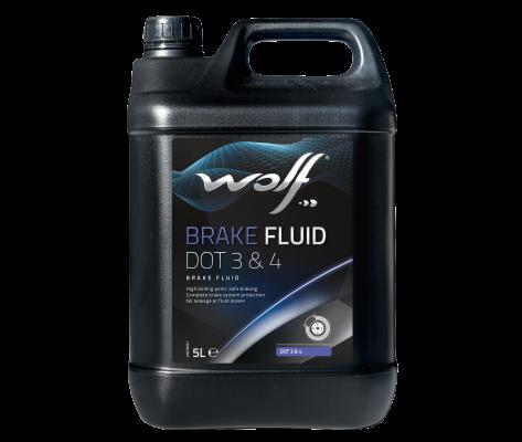 WOLF BRAKE FLUID DOT 3&4 5L