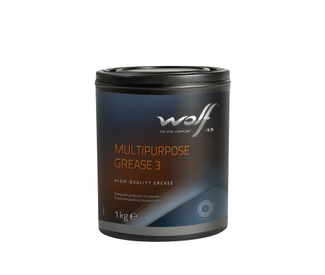 WOLF MULTIPURPOSE GREASE 3 1KG