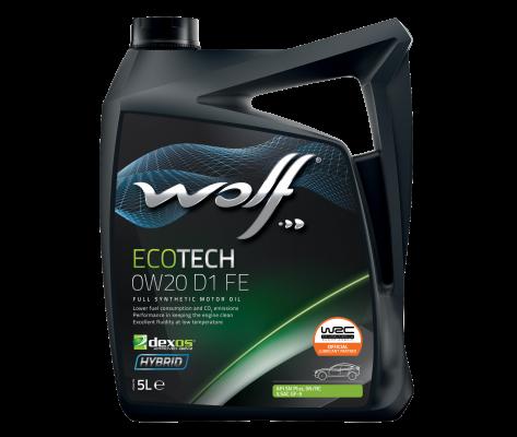WOLF ECOTECH 0W20 D1 FE 5L