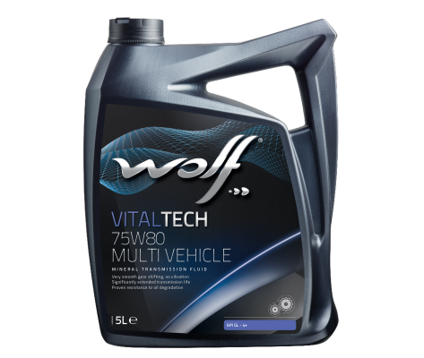 WOLF VITALTECH 75W80 MULTI VEHICLE 5L