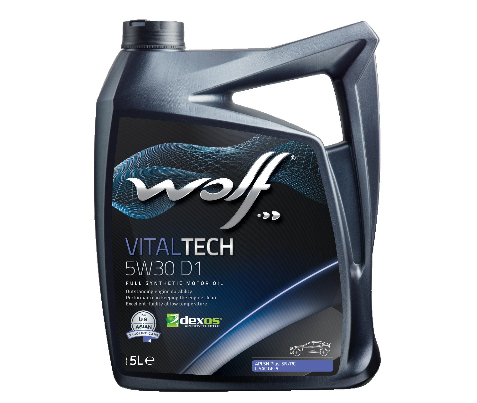 WOLF VITALTECH 5W30 D1 5L
