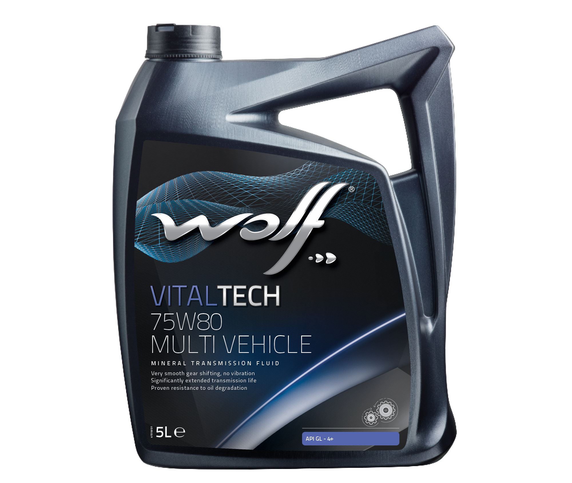 WOLF VITALTECH 75W80 MULTI VEHICLE 5L